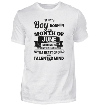 June Young man birthday saying
