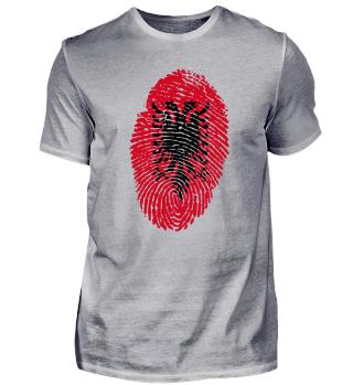 Fingerabdruck - Fingerprint - Albanien