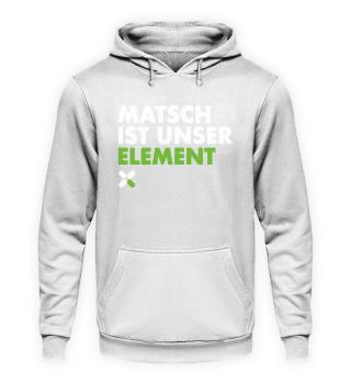 Matsch ist unser Element. OCR Hoodie