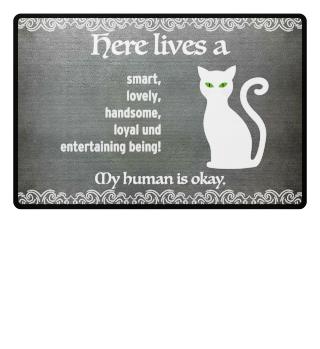 Cat Doormat Housewarming Gift Idea