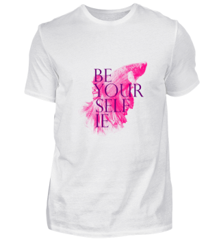 Limited Edition Be Your Selfie shirt men
