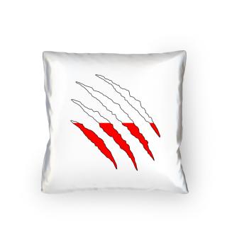 Polen Flagge WM Kissen Geschenk