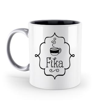 Fika Tasse schwedische Kaffeepause