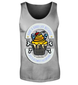 Herren Tank Top Cupcake Ramirez