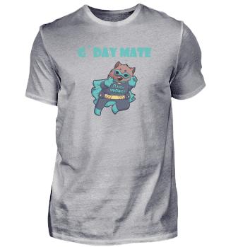 Gday Mate Australien Wombat Geschenk