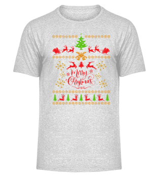 UGLY CHRISTMAS DESIGN - STRICKMUSTER #7.17
