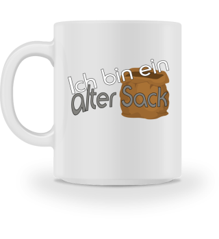 Oldiefans - Alter Sack Tasse