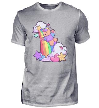 Rainbow Baby children's slide cat