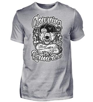 Herren Kurzarm T-Shirt Clowning Ramirez