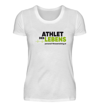 Athlet des Lebens Damen Basic Shirt