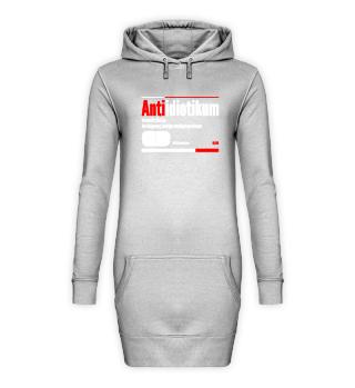 Krankenpflege Hoodie Kleid Antiidiotikum