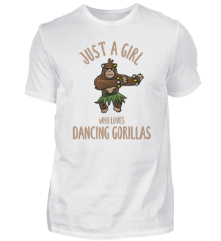 Girls dancing gorilla jungle monkey