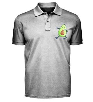 Dabbing avocado dancing vegan gift