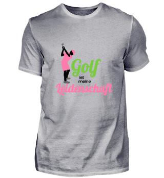 Golf ist meine Leidenschaft