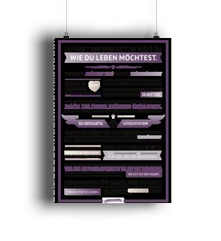 Glücksmanifest Poster