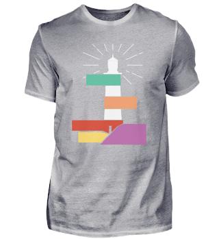 Leuchtturm Norddeutsch · T-Shirt
