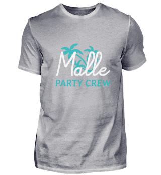 Malle Party Crew Urlaub Mallorca Palma P