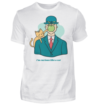 CURIOUS CAT by WOOF SHIRT (GB)