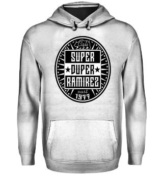 Herren Hoodie Super Duper BW Ramirez