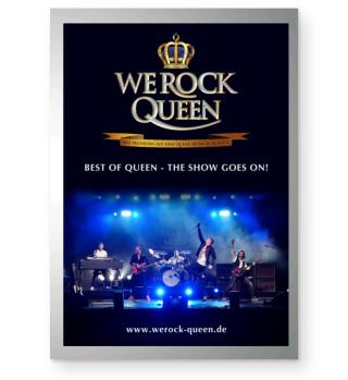 WE ROCK Queen - Poster hoch
