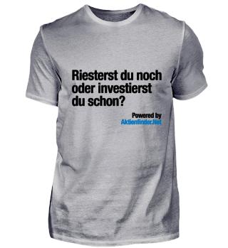 Riestern oder Investieren