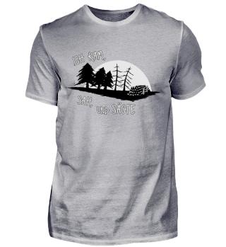 Sägewerk Wald Holzfäller