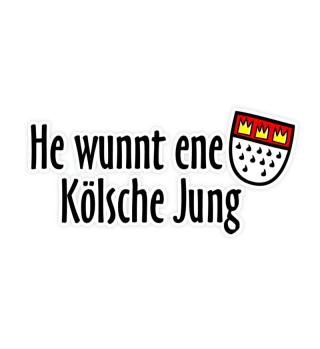 He wunnt ene Kölsche Jung