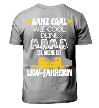 LKW Kinder Shirts - Mama LKW-Fahrerin