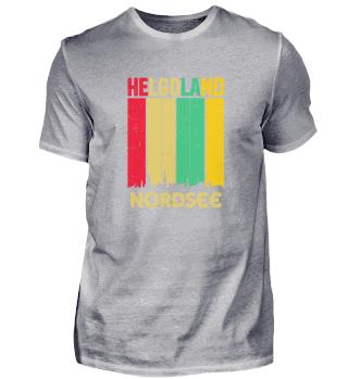 Helgoland Retro North Sea Skyline Insel