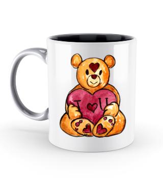 Love Teddy Valentinstag Geschenk idee