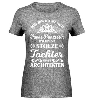 Stolze Tochter eines Architekten