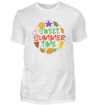 SWEET SUMMER TIME! Sommer Beach Geschenk