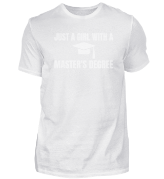 just a girl with a master's degree.