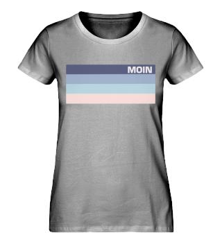 Moin Pastell - Damen Bio Shirt