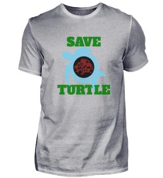 Save Turtle, Geschenk, Geschenkidee