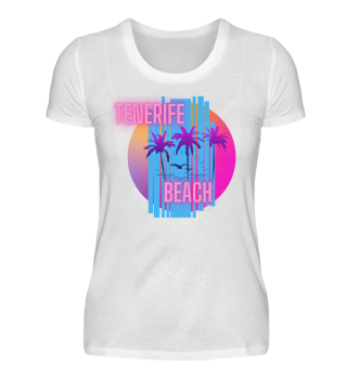 Damen T-Shirt | Neon Tenerife