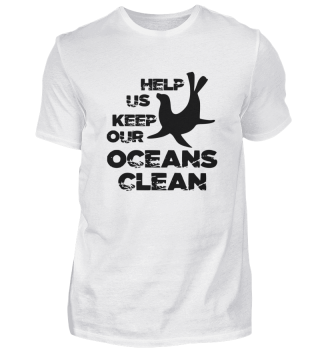 Help us keep the ocean clean.