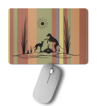 Mousepad - A sighthound`s day