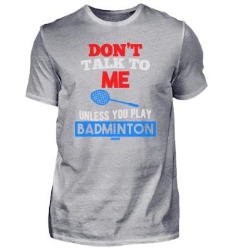 Badminton Federball Ballsport Geschenk