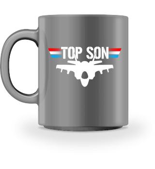 Top Son Sohn Pilot Jet Geschenk Tasse