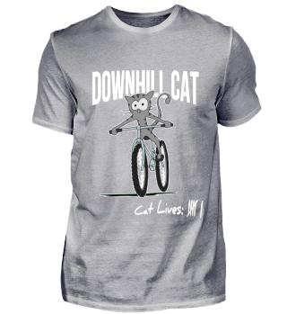 Downhill MTB Cat Mountainbike Geschenk