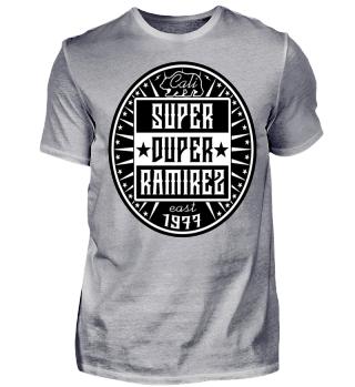 Herren Kurzarm T-Shirt Super Duper BW Ramirez