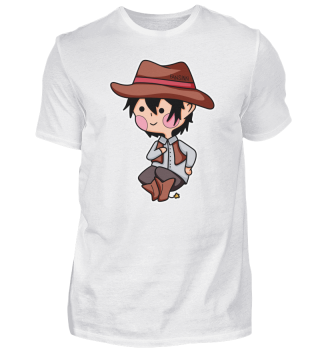 Cowboy Western Sheriff Cartoon Comic Kin