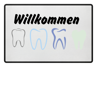 Fussmatte Zahnarzt