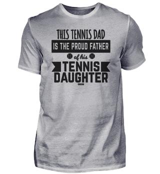 Tennis daughter child girl