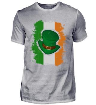 St Patricks Day Irish Flag Green Top Hat