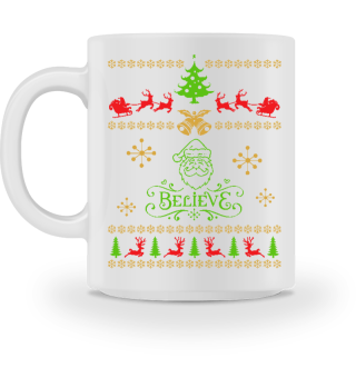 UGLY CHRISTMAS DESIGN - STRICKMUSTER #7.6