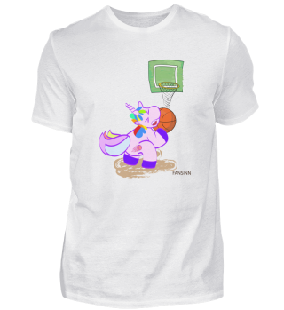 Basketball Unicorn Sports magical victor