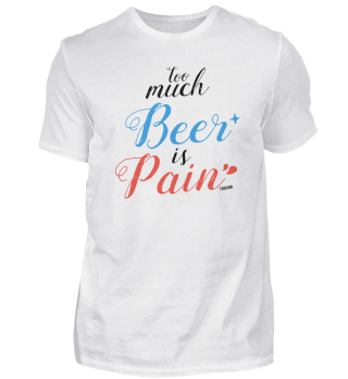 Beer spell pain