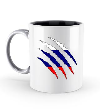 Russland Flagge Tasse Geschenk Idee